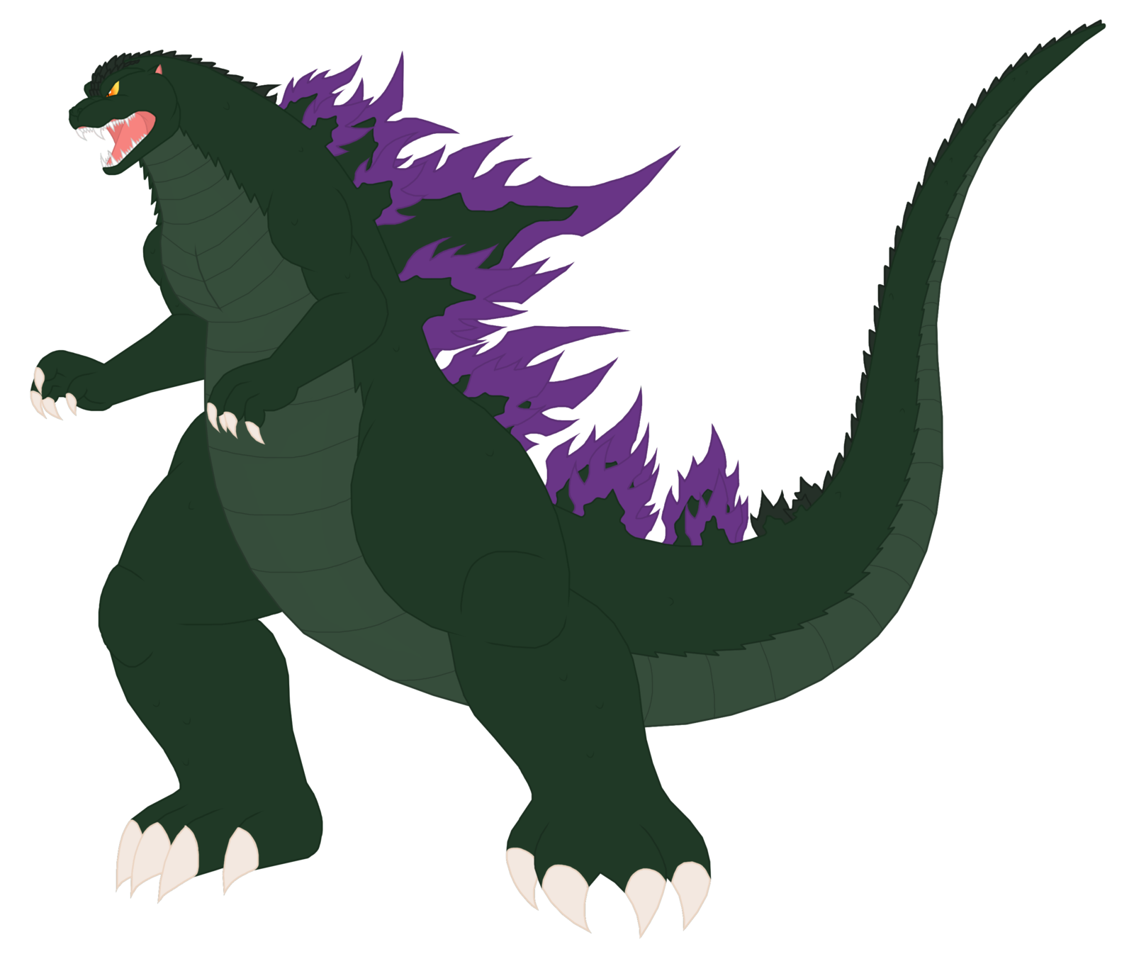 Godzilla clipart transparent Pyrus sonichedgehog2 by favourites on