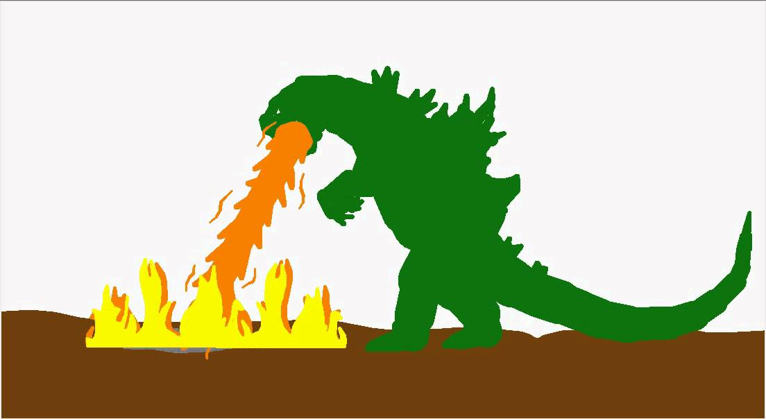 Godzilla clipart youtube VS Graboid Random 2000 fights