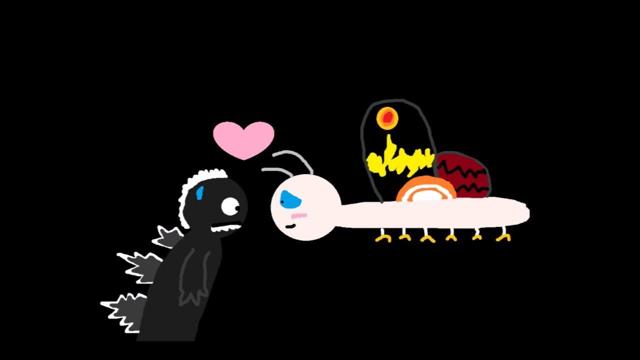 Godzilla clipart youtube Themes Godzilla Love Story Mothra;