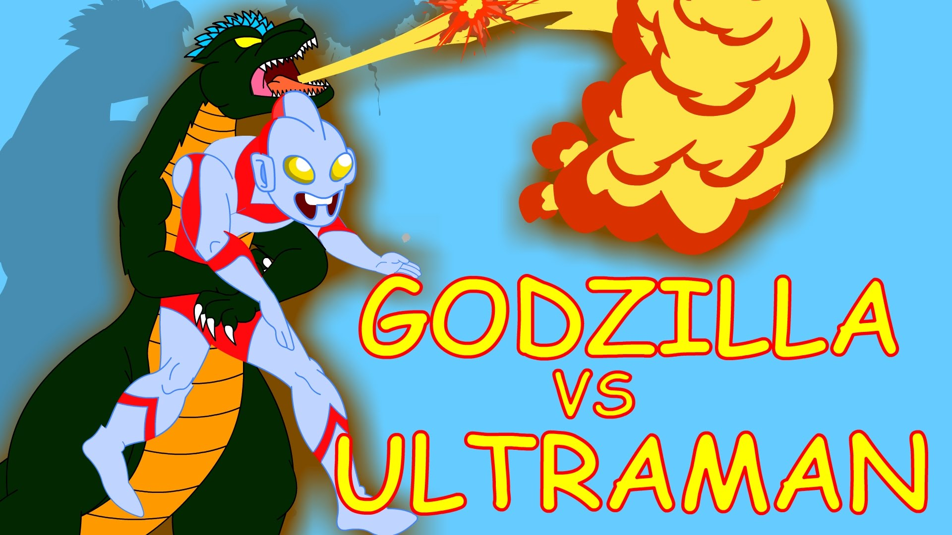 Godzilla clipart youtube Nursery rhymes Ultraman Family Godzilla