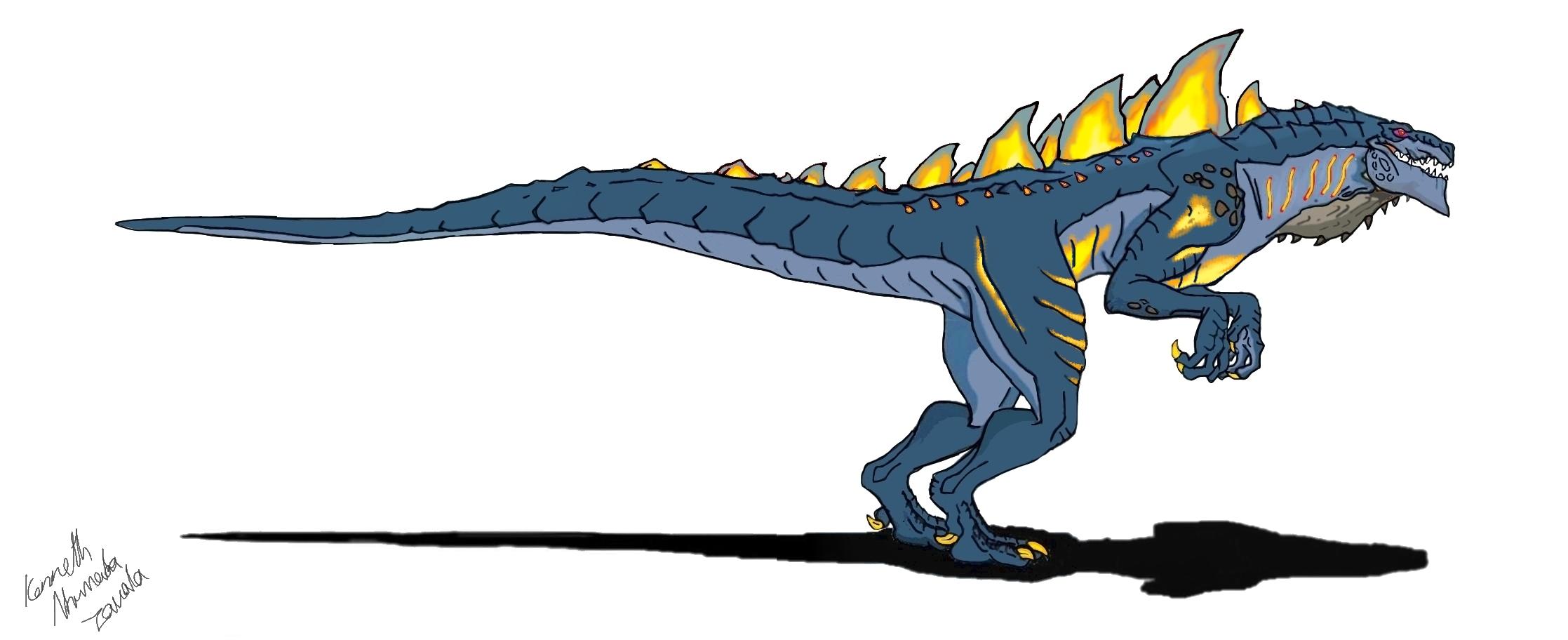 Godzilla clipart zilla 801 by Dino master abekowalski
