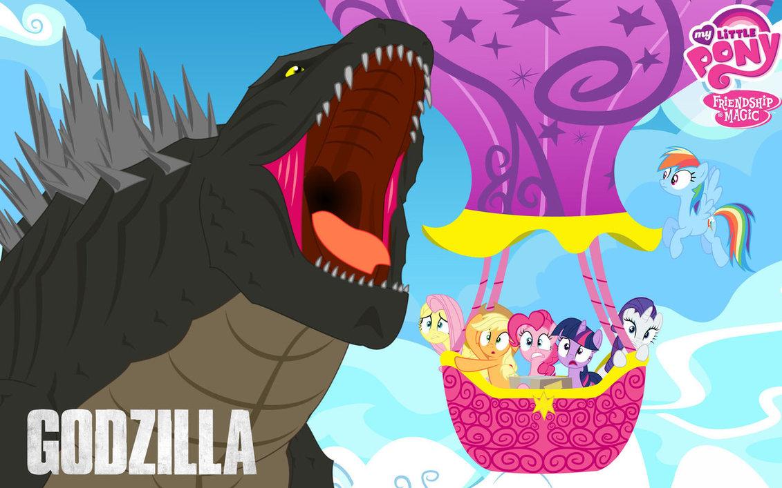 Godzilla clipart zilla MEET MLP MEET GODZILLA DeviantArt