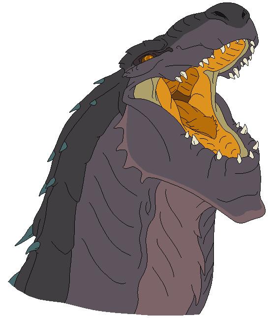 Godzilla clipart zilla 8 Series: DeviantArt GODZILLA (Roaring)