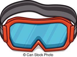Goggles clipart  Winter goggles Snowboard Clip