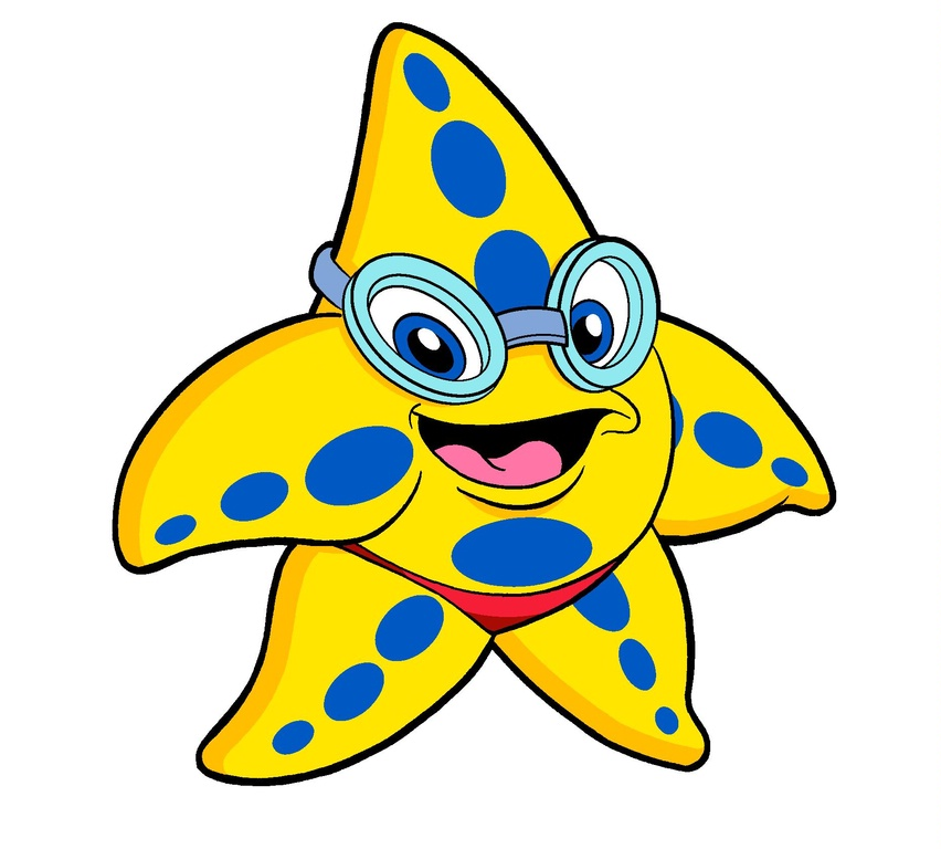 Drawn starfish animated Trinity on Clip Images GOGGLES