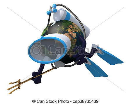 Flippers clipart goggles Csp38735439  goggles diving and