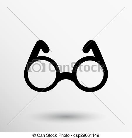 Spectacles clipart vision Round Vector vision specs Glasses