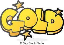 Gold clipart Gold gold Illustrations 15 word
