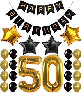 Old clipart 50 year Banner Birthday BIRTHDAY Topper