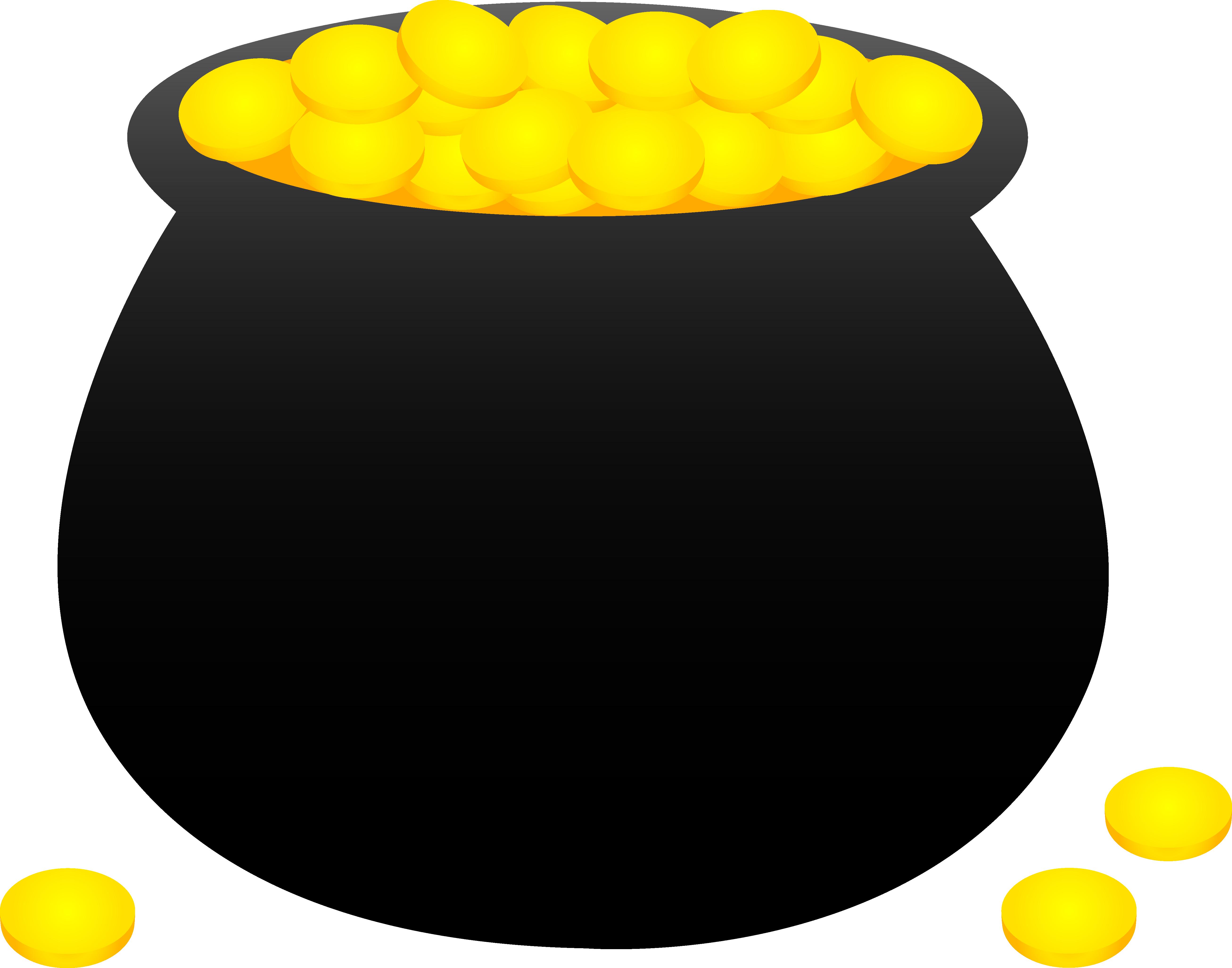 Coin clipart empty Cartoon Cartoon Clipart Pot Pot