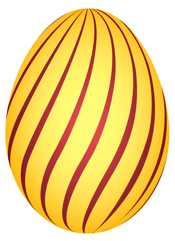 Orange clipart easter eggs #5798 Best Free Egg Red