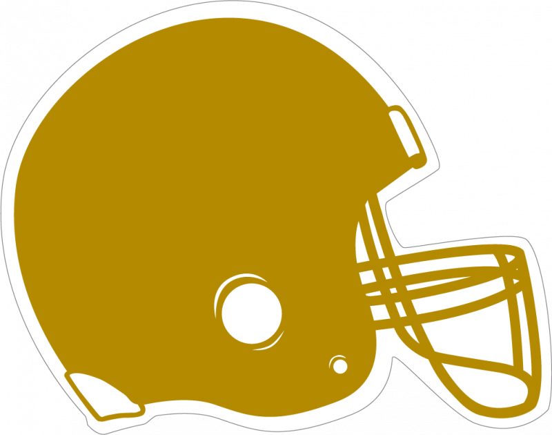 Yellow clipart football helmet Art Football clip football pink