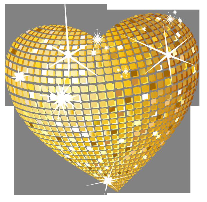 Disco clipart heart Pinterest Picture Gold Clipart Gold