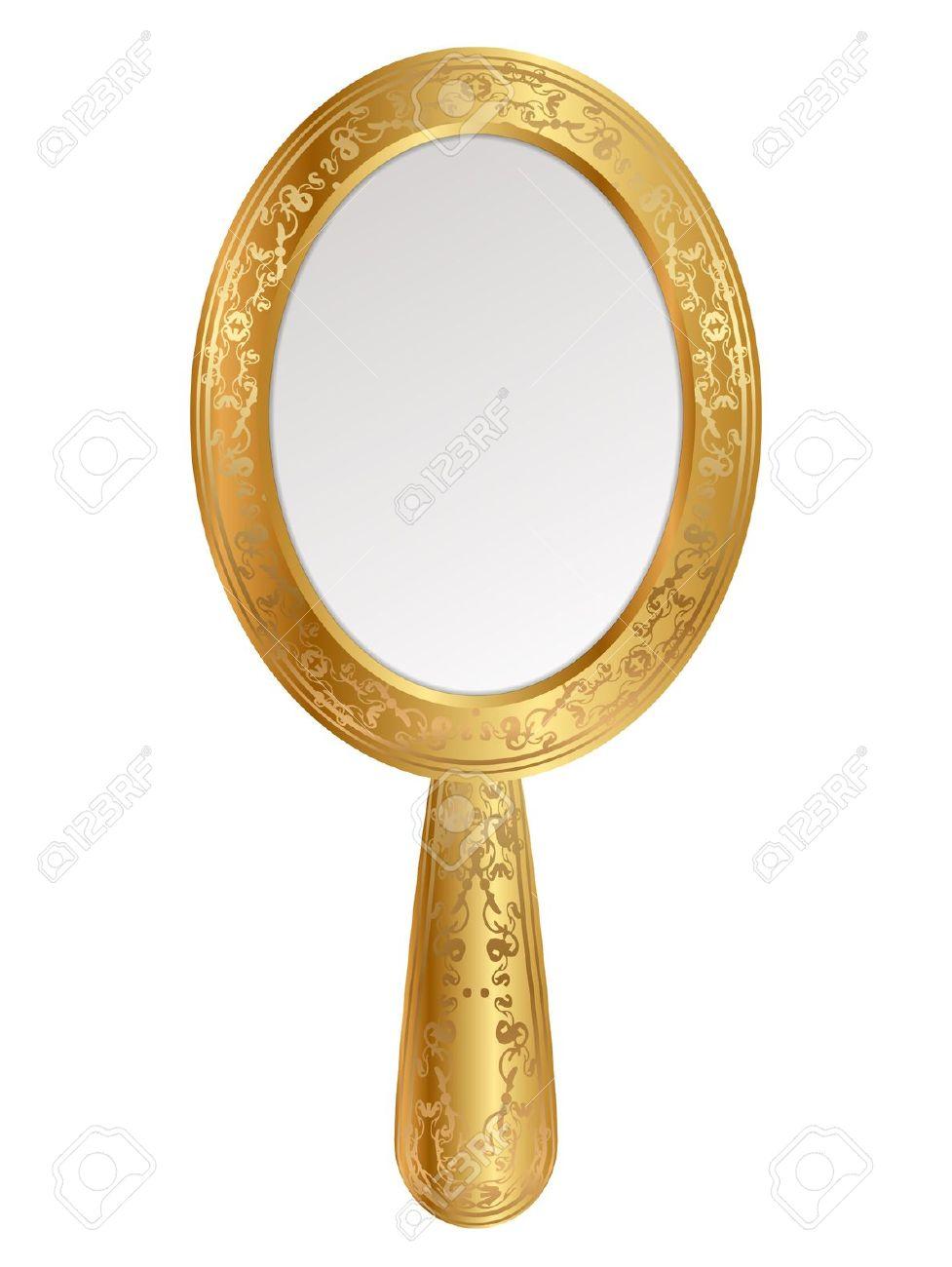Mirror clipart hand mirror #1