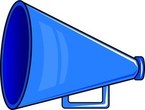 Club clipart megaphone Com Clipart Cheer White Free
