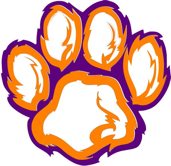 Paw clipart lsu tiger Tiger Paw Tiger collection The
