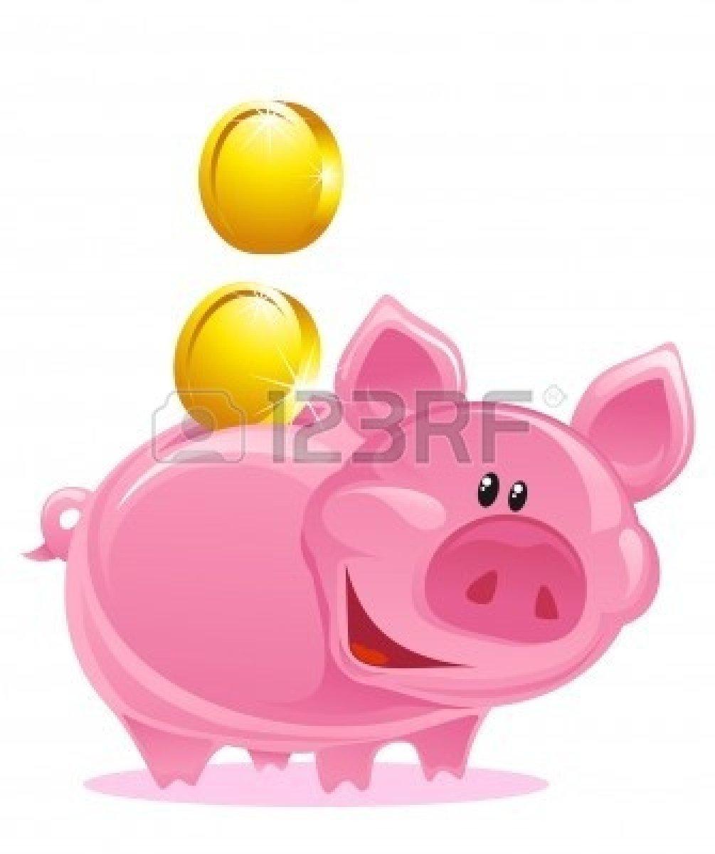 Coin clipart money bank Free Clipart Bank Piggy Images