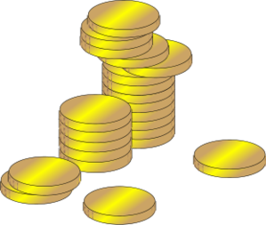 Coin clipart stack coin Gold Coins Stacks Download Coins