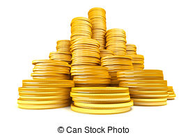 Coin clipart stack coin Royalty Downloads of Coins