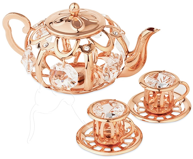 Teapot clipart gold Gatwick with Rose Distribution Gold