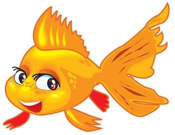 Goldfish clipart orange color Clipart Gold com Art Clipart
