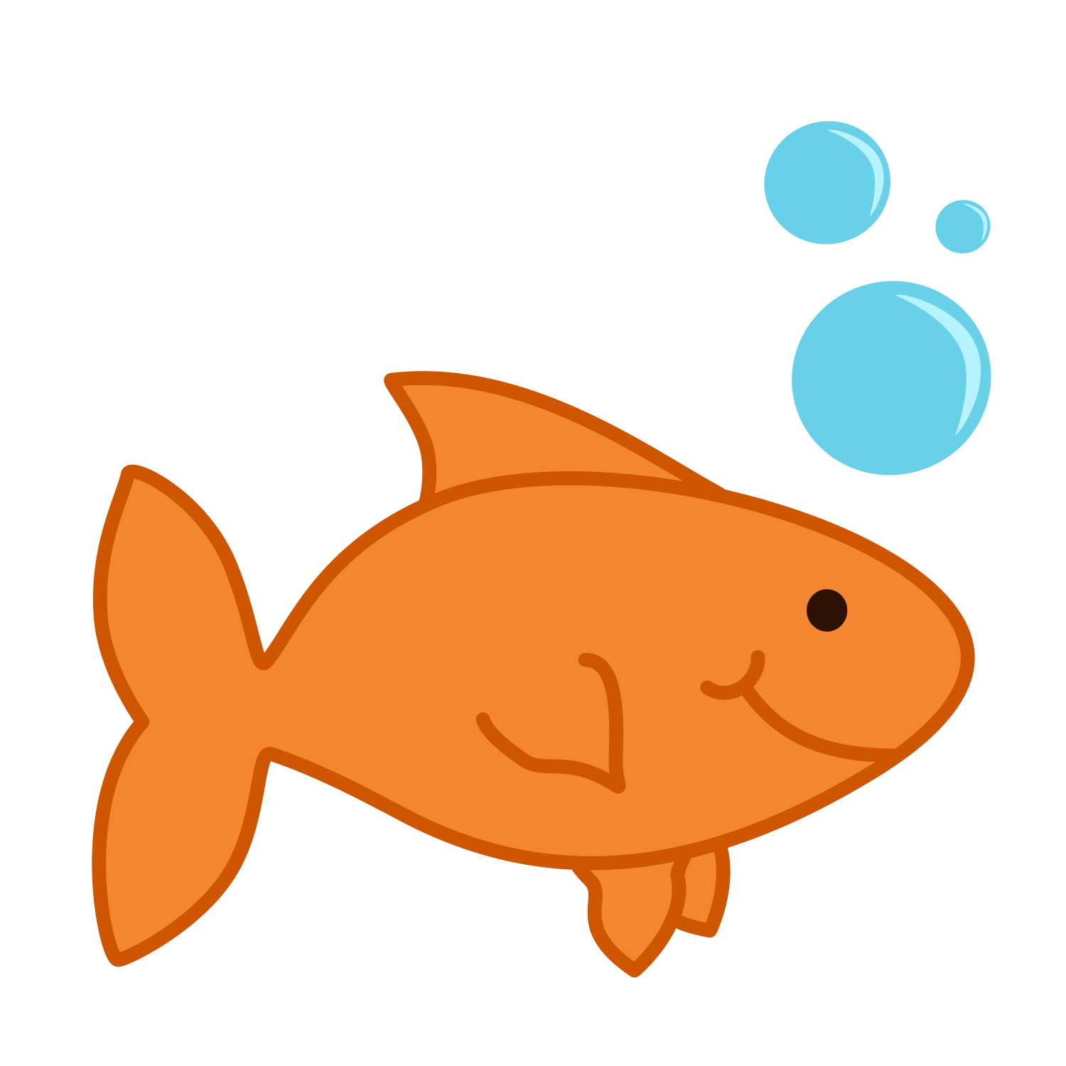 Yellow clipart goldfish cracker Images Free Goldfish Clipart Clipart