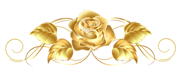 Beautiful clipart gold flower Golden Download drawings Download clipart
