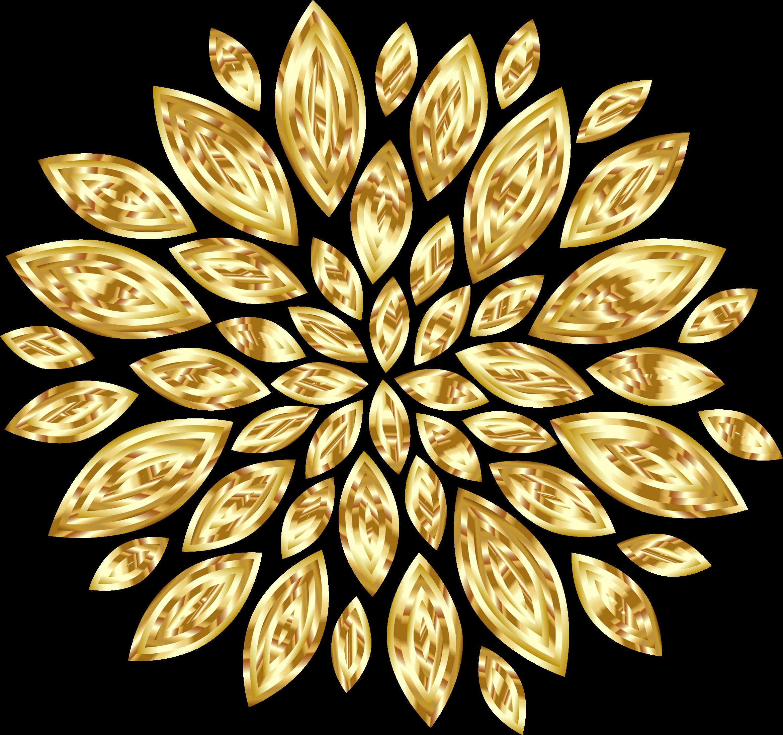 Petal clipart big flower Gold Petals Flower flower Variation