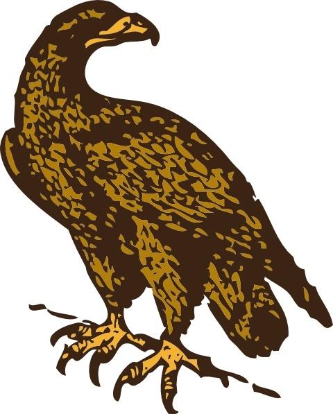 Golden Eagle clipart Art svg Free art clip