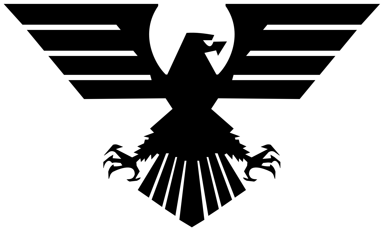 Black Eagle clipart transparent background Logos Logos Clipart Military Eagle