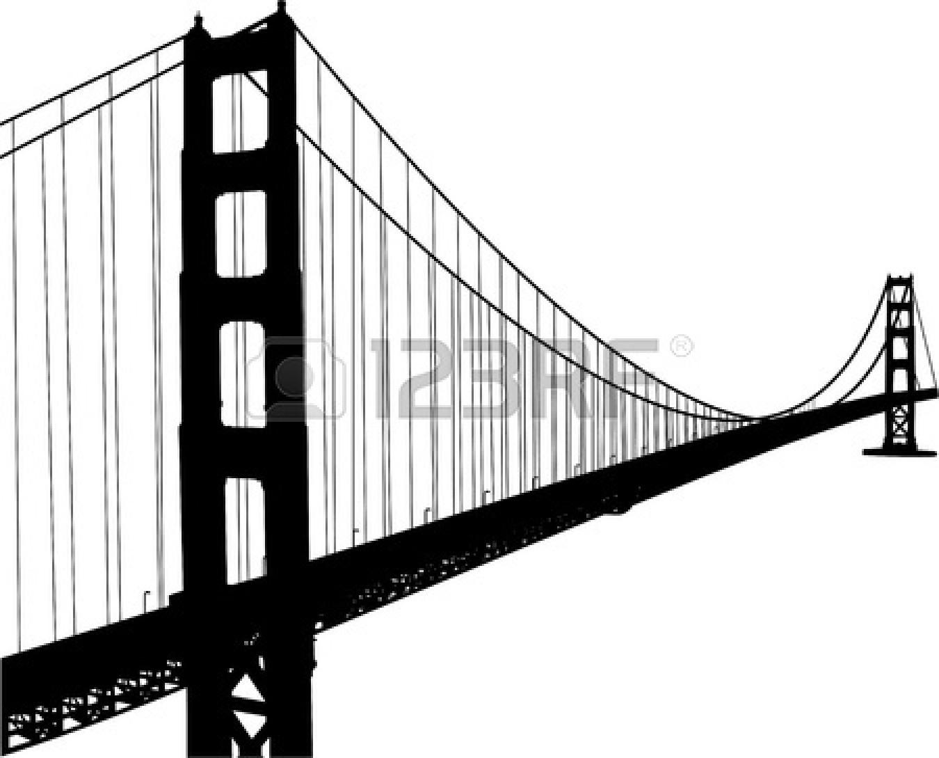 Golden Gate clipart brooklyn bridge Art – Francisco Francisco Bridge