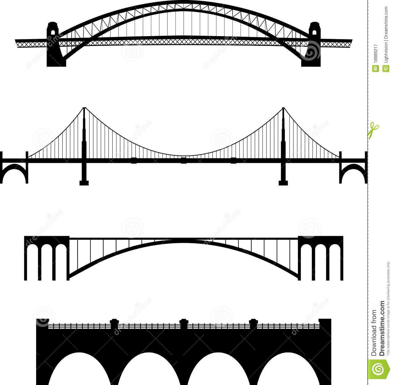 Bridge clipart black and white Result Bridge Architectures Image bridge