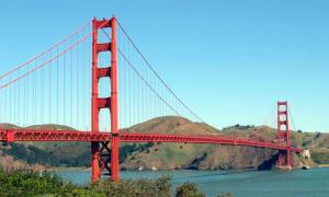 Golden Gate clipart simple bridge Art Gate Bridge Golden Clipart