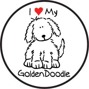 Goldendoodle clipart #9