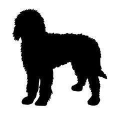 Goldendoodle clipart Room! and Silhouette for søgning