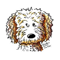 Goldendoodle clipart Search cartoon  Search goldendoodle
