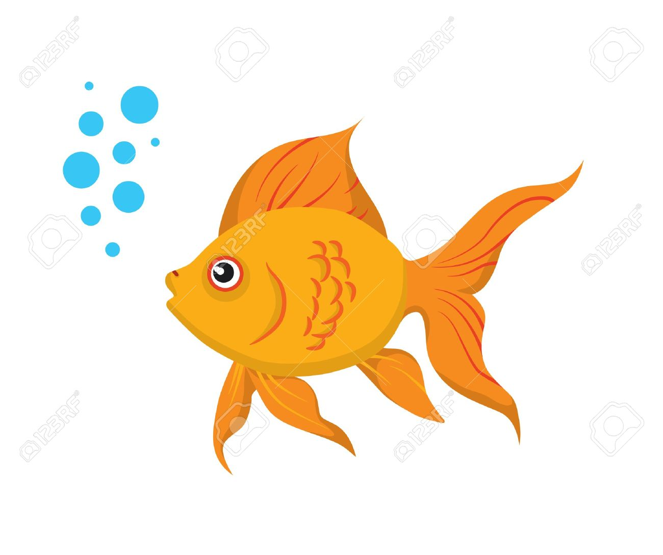 Line Art clipart golden fish Goldfish Others and Sea Inspiration