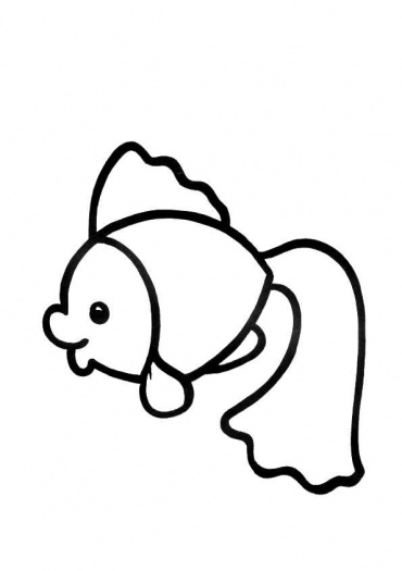 Goldfish clipart baby fish Panda Images Free gold%20fish%20coloring%20page Coloring