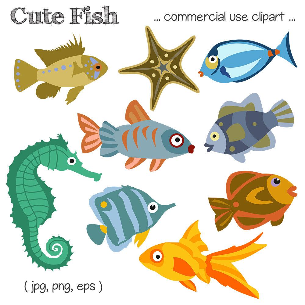Sea clipart coral reef fish #10