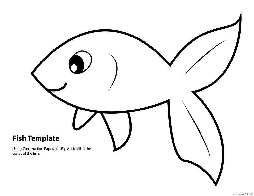Goldfish clipart dorothy Template goldfish  Search Google
