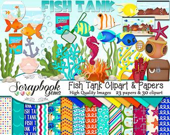Goldfish clipart ocean fish FISH & jpeg 23 30