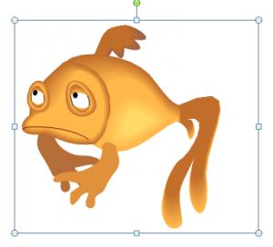 Sad clipart fish #2