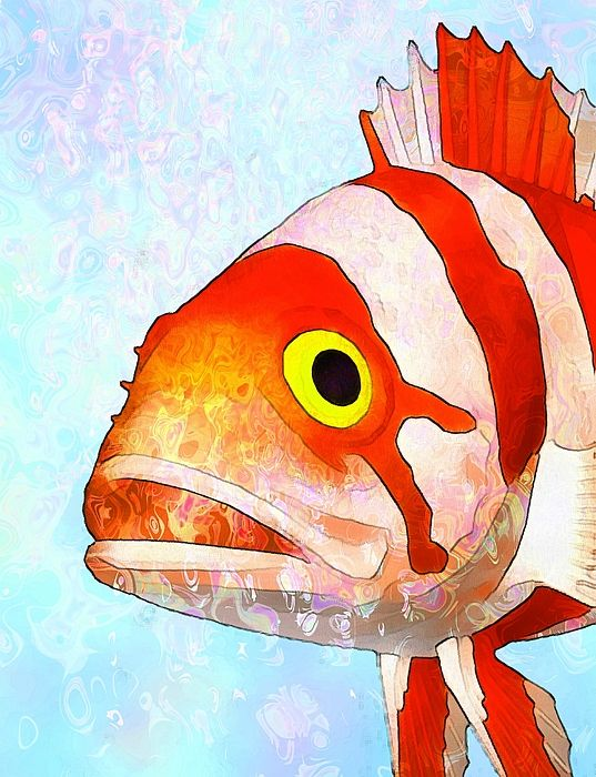 Water Color clipart painter tool Tropicalfish ideas Watercolor fish saltwater