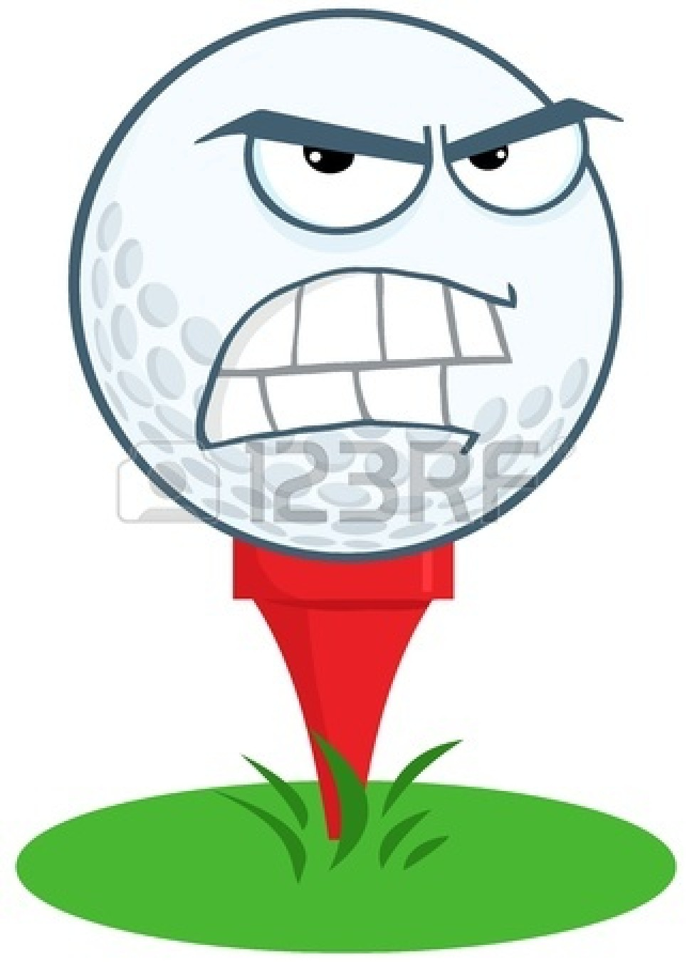 Golf Ball clipart angry Golf%20ball%20on%20tee%20clip%20art Images Tee Golf Clip