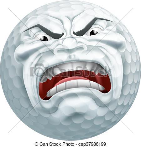 Golf Ball clipart angry EPS Ball Golf An angry