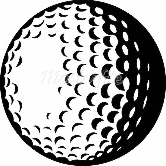 Golf Ball clipart black and white Download and art clip Golf