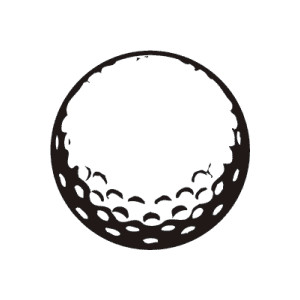 Golf Ball clipart black and white Golf clipartfest Free ball 2
