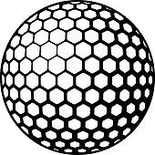 Golf Ball clipart bola Golf Golf Royalty GoGraph Free