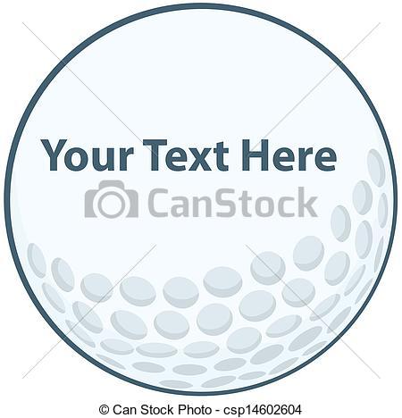 Golf Ball clipart cartoon Cartoon Ball Ball Golf csp14602604