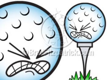 Golf Ball clipart cartoon Free Golf Picture  Cartoon